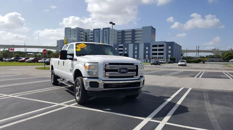 2011 Ford F-250 Super Duty XLT 4x4 4dr Crew Cab 8 ft. LB Pickup - Miami FL