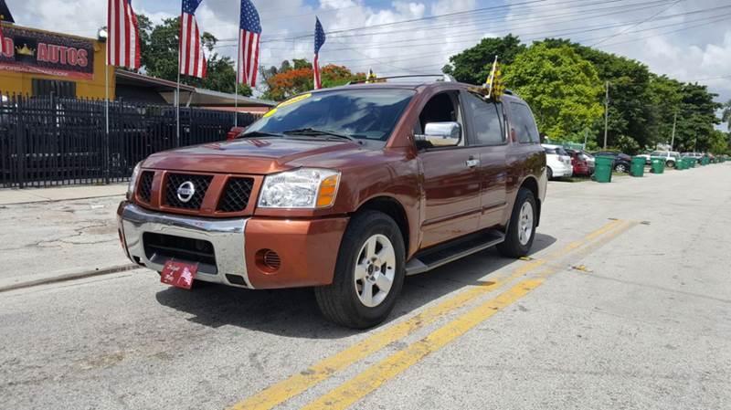2004 Nissan Armada SE 4dr SUV - Miami FL