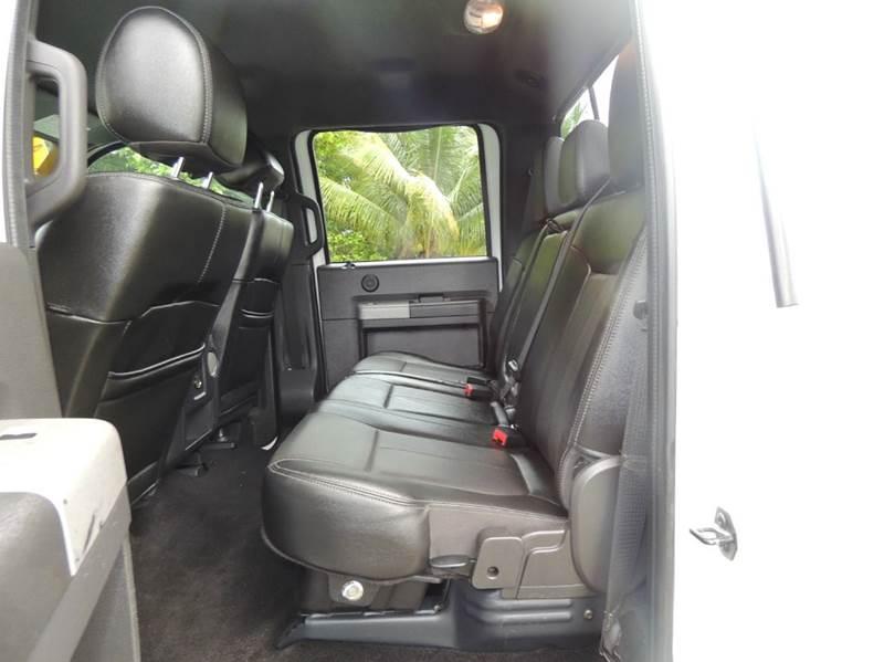 2013 Ford F-350 Super Duty Lariat 4x4 4dr Crew Cab 6.8 ft. SB SRW Pickup - Miami FL