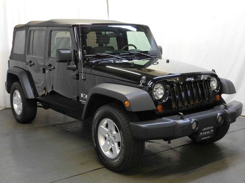 2008 jeep wrangler unlimited for sale in cincinnati oh. Black Bedroom Furniture Sets. Home Design Ideas