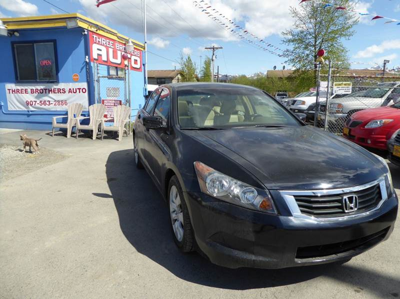 2008 Honda Accord EX-L 4dr Sedan 5A w/Navi - Anchorage AK