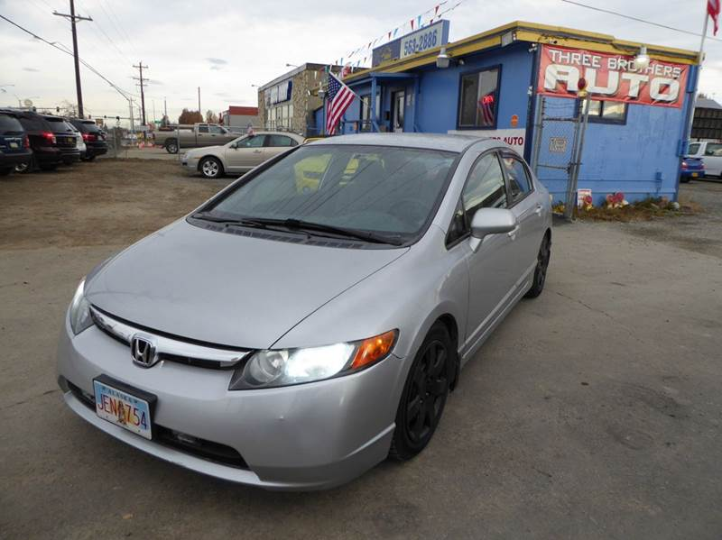 2008 Honda Civic LX 4dr Sedan 5M - Anchorage AK