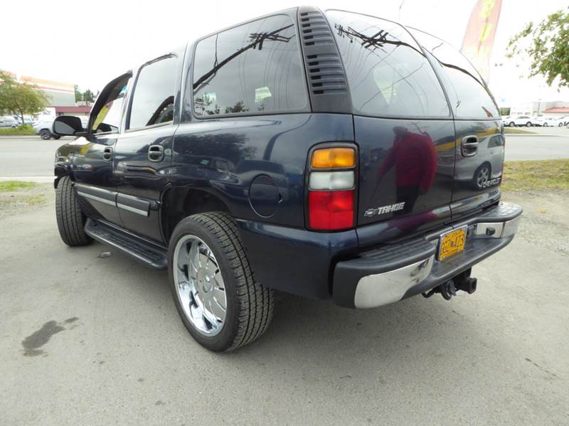 2004 Chevrolet Tahoe LS 4WD 4dr SUV - Anchorage AK