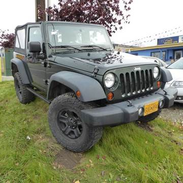 2012 Jeep Wrangler for sale in Anchorage, AK