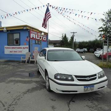 2003 Chevrolet Impala for sale in Anchorage, AK