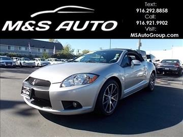 2012 mitsubishi eclipse spyder for sale in sacramento ca. Black Bedroom Furniture Sets. Home Design Ideas