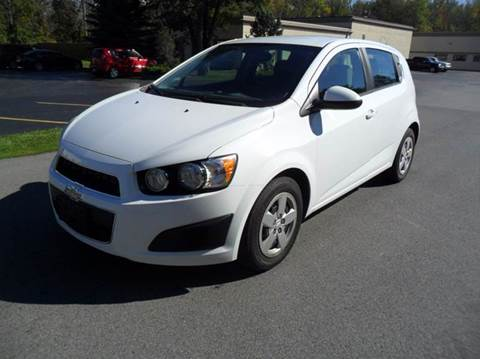2013 Chevrolet Sonic for sale in Clarence, NY