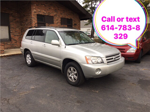2002 Toyota Highlander for sale in Columbus, OH