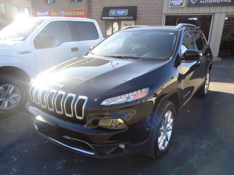 2016 Jeep Cherokee 4x4 Limited 4dr SUV - Worcester MA