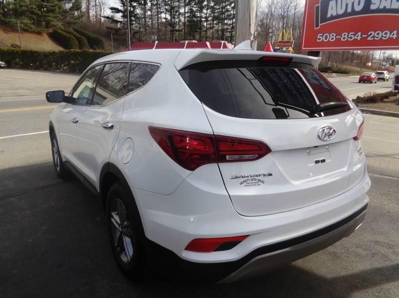 2017 Hyundai Santa Fe Sport AWD 2.4L 4dr SUV - Worcester MA