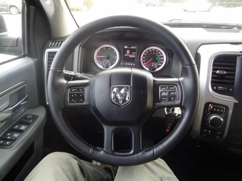 2016 RAM Ram Pickup 1500 4x4 Big Horn 4dr Quad Cab 6.3 ft. SB Pickup - Worcester MA