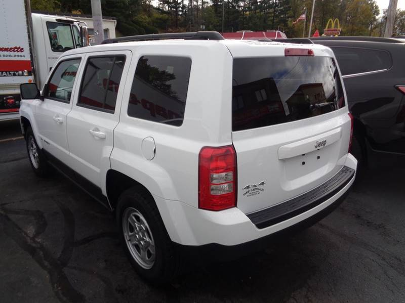 2016 Jeep Patriot 4x4 Sport 4dr SUV - Worcester MA