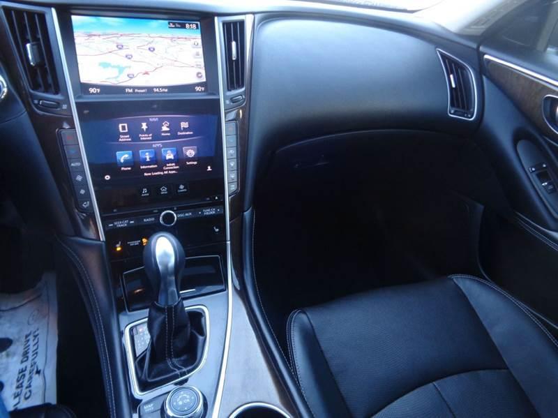 2014 Infiniti Q50 AWD 4dr Sedan - Worcester MA