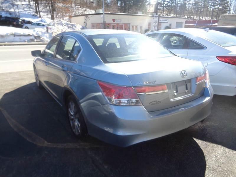 2012 Honda Accord EX 4dr Sedan 5A - Worcester MA