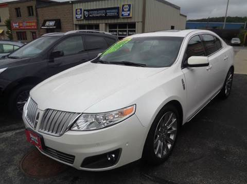 2012 Lincoln MKS for sale in Worcester, MA
