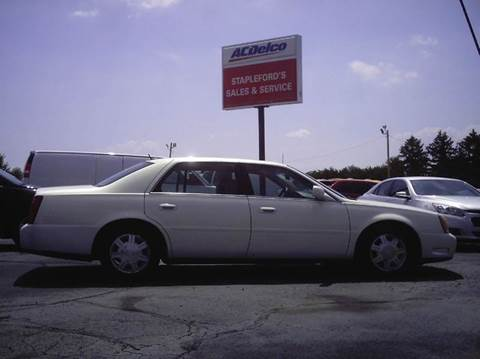 2005 Cadillac DeVille for sale in Saint Georges, DE