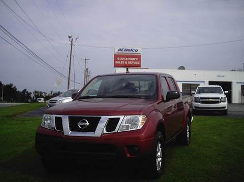 2016 Nissan Frontier for sale in Saint Georges, DE