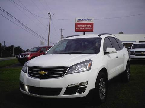 2017 Chevrolet Traverse for sale in Saint Georges, DE
