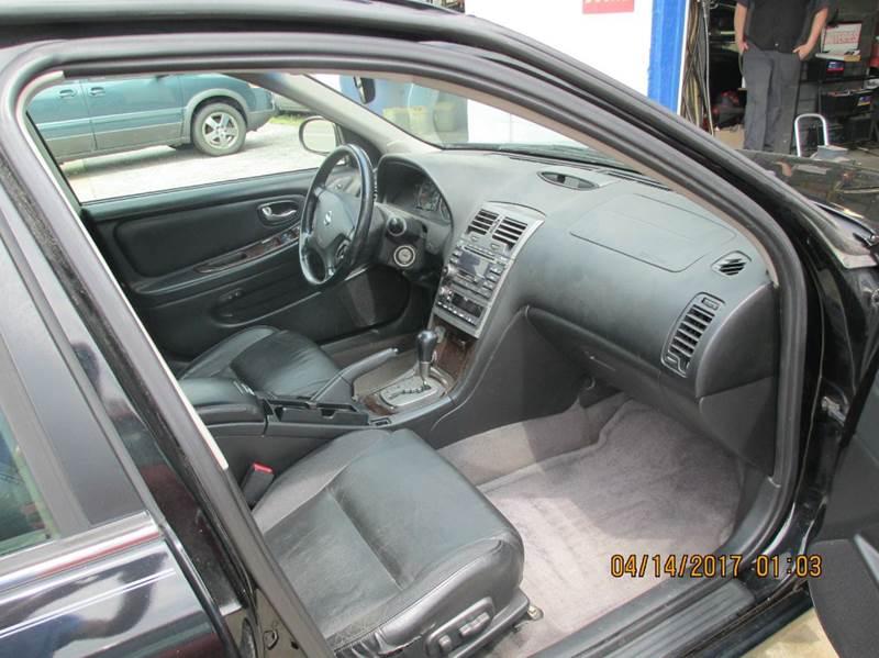 2003 Nissan Maxima GLE 4dr Sedan - Carbondale IL