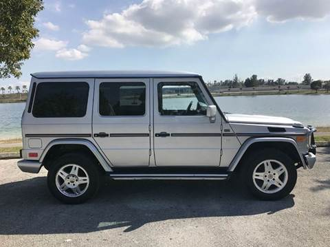2002 mercedes benz g class for sale