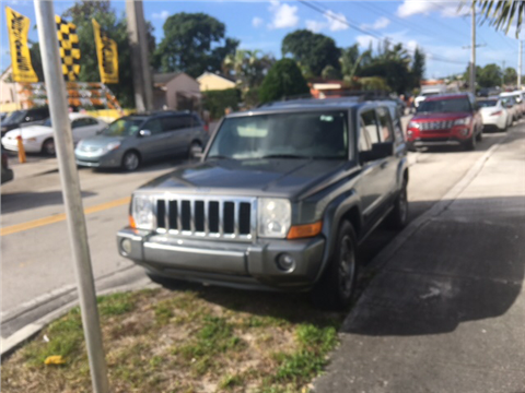 2007 Jeep Commander for sale in Hialeah, FL
