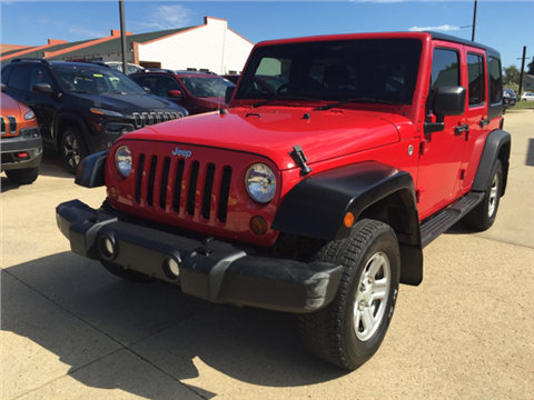2012 Jeep Wrangler Unlimited for sale in Galena, IL