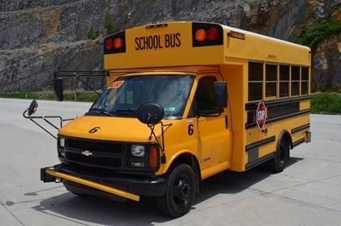 2002 Chevrolet  G3500 Diesel 14 Passenger Bus