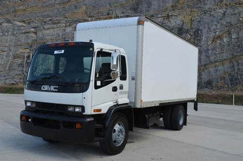 1998 GMC TC6500 20ft Box Truck