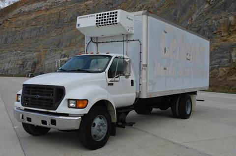 2000 Ford F650 20ft Refer Truck