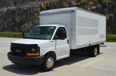 2008 GMC Savana 3500 16ft Box Truck
