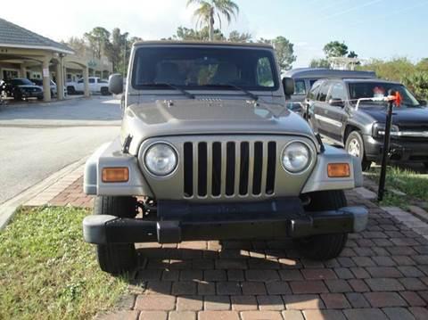 2003 Jeep Wrangler for sale in Melbourne, FL