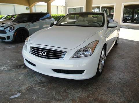 2009 Infiniti G37 Convertible for sale in Melbourne, FL