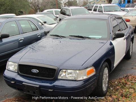 2010 Ford Crown Victoria for sale in Nokesville, VA