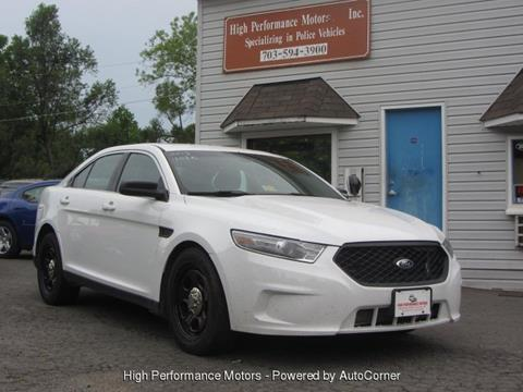 2013 Ford Taurus for sale in Nokesville, VA