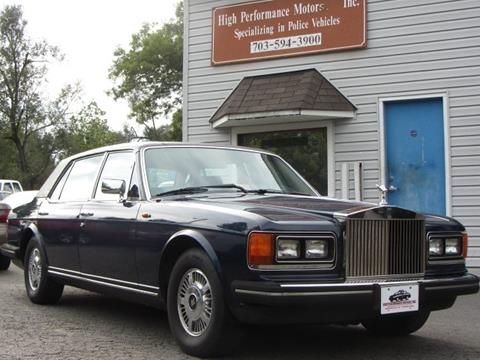 1985 Rolls-Royce Silver Spur for sale in Nokesville, VA