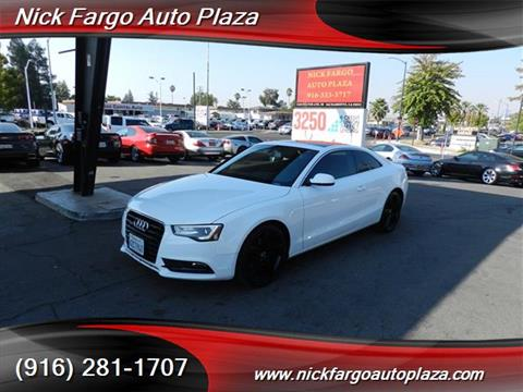 2013 Audi A5 for sale in Sacramento, CA