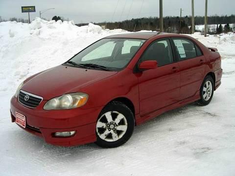 Used 2007 Toyota Corolla For Sale Michigan Carsforsale Com