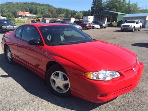 2000 Chevrolet Monte Carlo for sale in Windber, PA