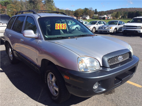 2001 Hyundai Santa Fe for sale in Windber, PA