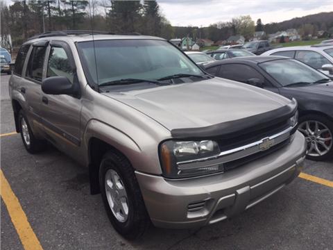 2003 Chevrolet TrailBlazer for sale in Windber, PA