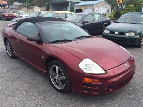 2003 Mitsubishi Eclipse Spyder for sale in Windber, PA