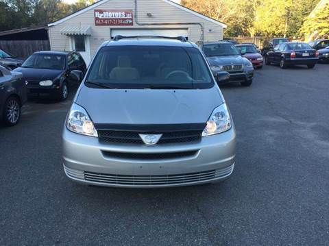 2005 Toyota Sienna for sale in Saugus, MA
