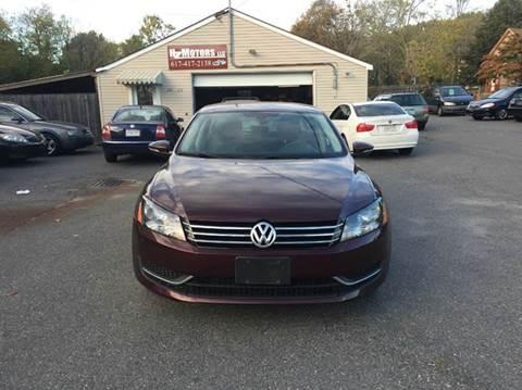 2012 Volkswagen Passat for sale in Saugus, MA
