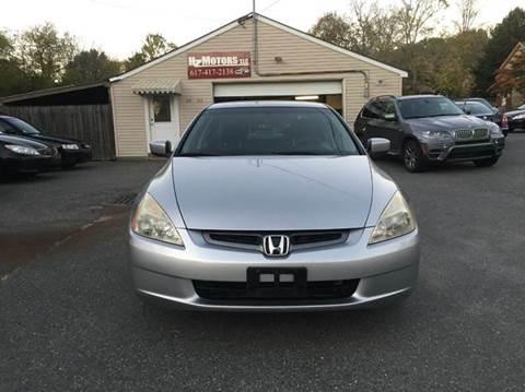 2003 Honda Accord for sale in Saugus, MA