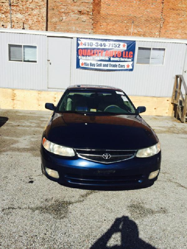 2001 Toyota Camry Solara for sale in Baltimore MD