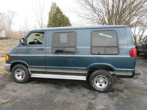 1999 Dodge Ram Van for sale in Valparaiso, IN