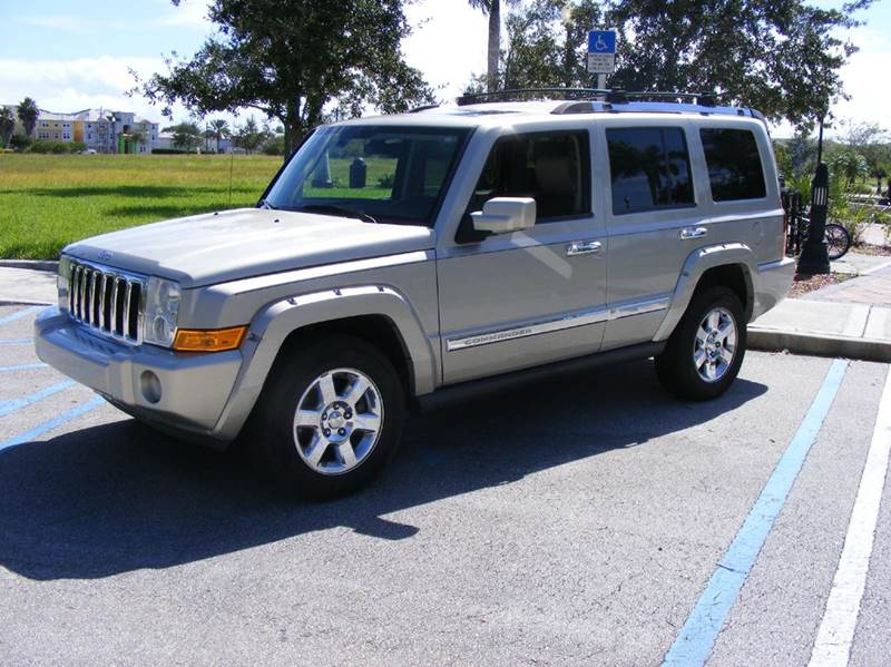 2008 jeep commander for sale in port st lucie fl. Black Bedroom Furniture Sets. Home Design Ideas