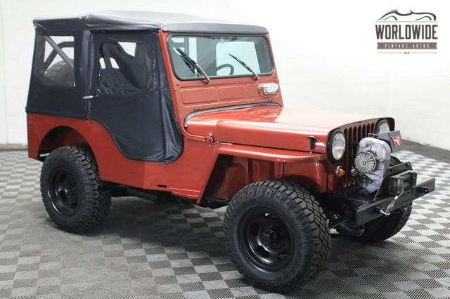 1952 Willys JEEP CJ2A for sale in Denver CO