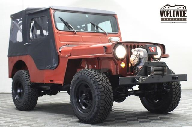 1952 Willys JEEP CJ3A for sale in Denver CO