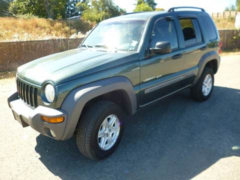 2002 Jeep Liberty for sale in Port Angeles, WA